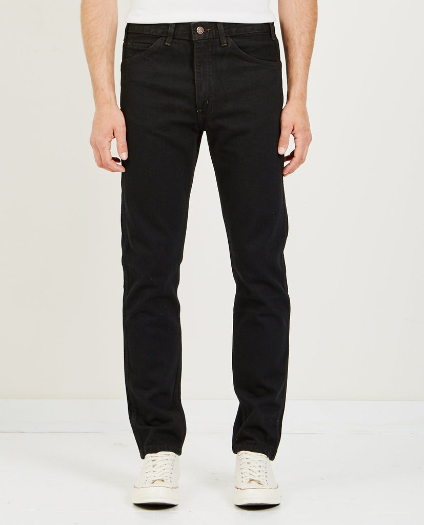 LEVI'S VINTAGE CLOTHING-1969 606 JEANS BLACK OVERDYE-Men Straight-{option1]