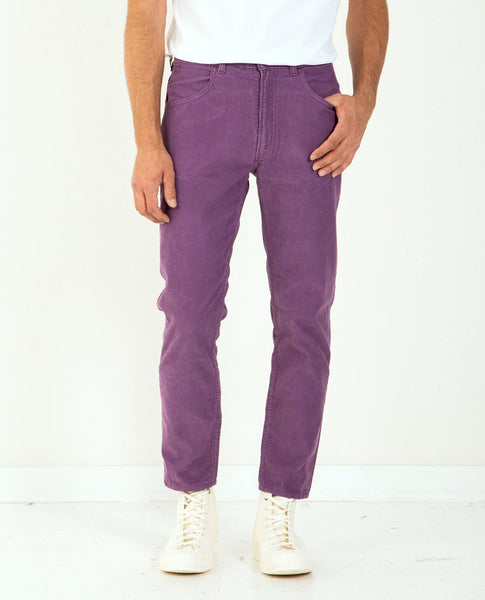 LEVI'S VINTAGE CLOTHING 1970's 519 Cords Grape Jam