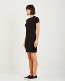 1X1 RIBBED SHORT DRESS-STATESIDE-American Rag Cie