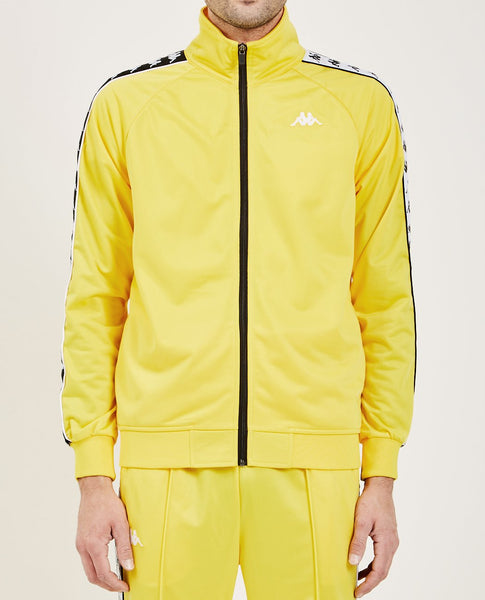 KAPPA 222 BANDA ANNISTON SLIM FIT JACKET YELLOW & BLACK