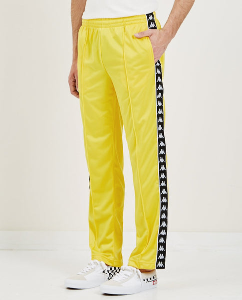KAPPA 222 BANDA ASTORIAZZ TRACKPANT YELLOW & BLACK