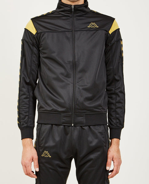 KAPPA 222 BANDA MEREZ SLIM JACKET BLACK