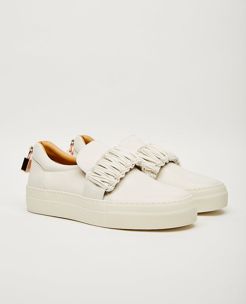 BUSCEMI-40MM BRAID OFF WHITE-Women Sneakers+ Trainers-{option1]