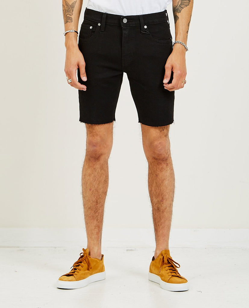 LEVI'S-412 Slim Shorts Black-Men Shorts-{option1]