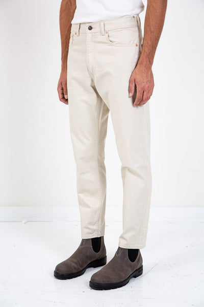 LEVI'S VINTAGE CLOTHING 5 POCKET SATEEN PANT CREME BRULEE