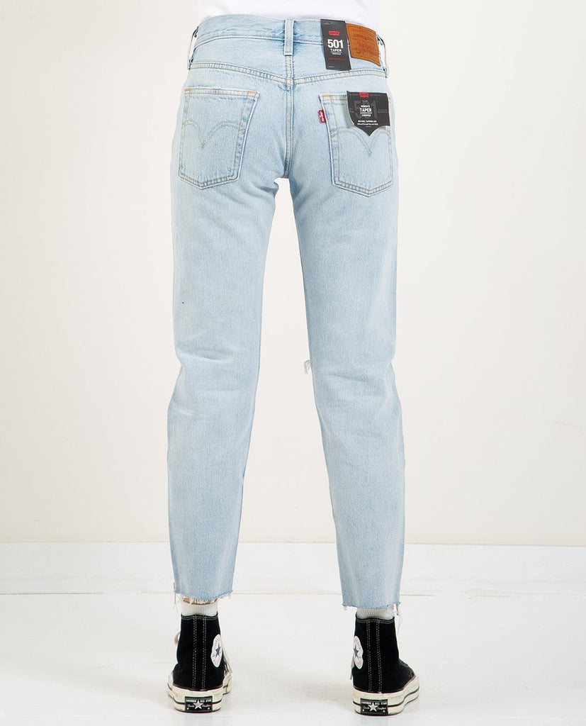 LEVI'S-501 CROPPED TAPER PART TIME LOVER-SALE Women Straight-{option1]