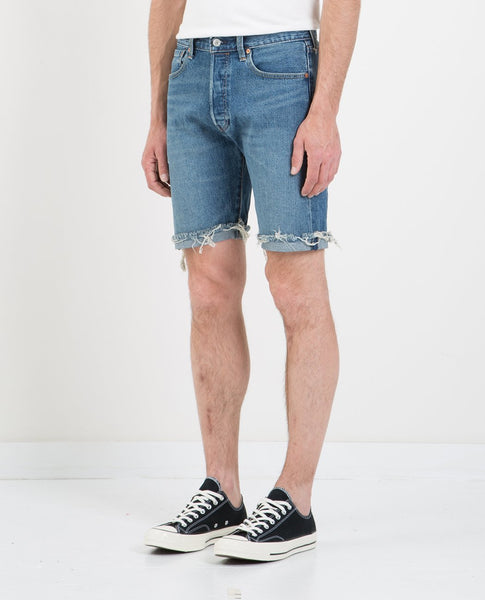 LEVI'S 501 CUT-OFF SHORT RED HOTS