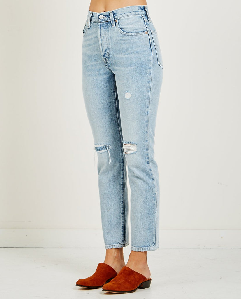 501 JEAN SALT BLEACHED-LEVI'S: MADE & CRAFTED-American Rag Cie