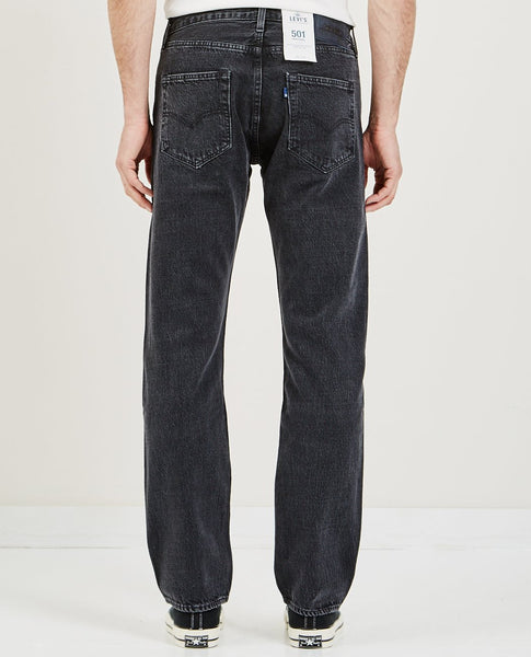 LEVI'S: MADE & CRAFTED 501 ORIGINAL JEANS BLACK STONEWASH