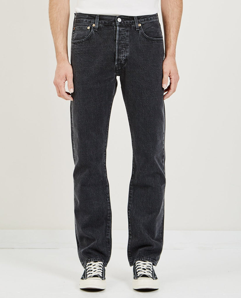 501 ORIGINAL JEANS BLACK STONEWASH-LEVI'S: MADE & CRAFTED-American Rag Cie