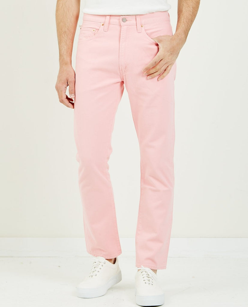 LEVI'S VINTAGE CLOTHING-505 Colors Pink Dust-Men Relaxed-{option1]