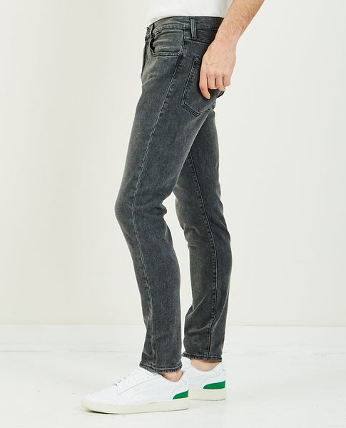 LEVI'S: MADE & CRAFTED 512 Slim Tapered Black Wolf