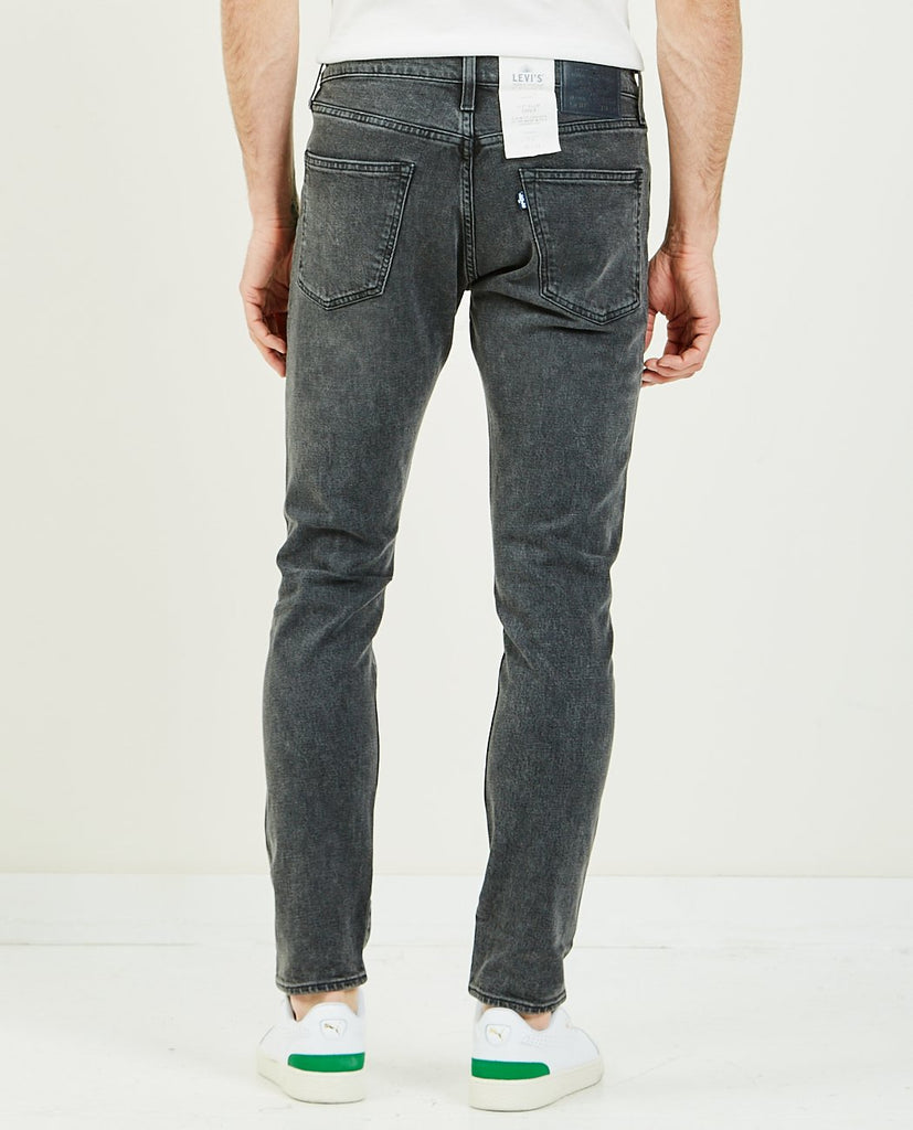 LEVI'S: MADE & CRAFTED-512 Slim Tapered Black Wolf-Men Skinny-{option1]