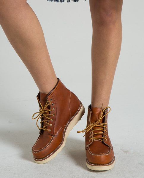 RED WING 6-Inch Lace-Up Moc