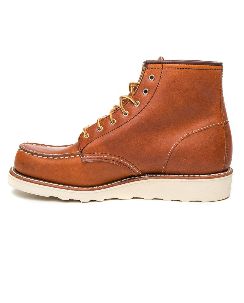 6-INCH LACE-UP MOC-RED WING-American Rag Cie