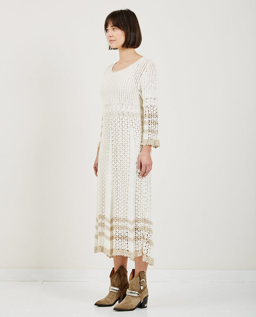 60'S CROCHET DRESS-TRIAA-American Rag Cie