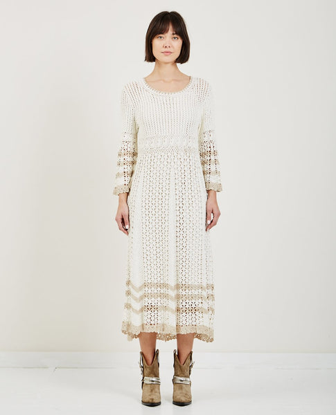 TRIAA 60'S CROCHET DRESS