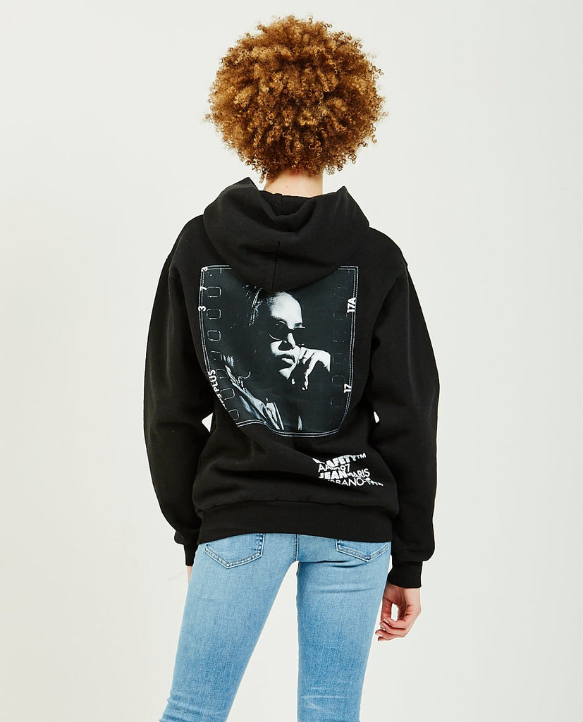 Aaliyah Film Back Hoodie-OFF SAFETY-American Rag Cie
