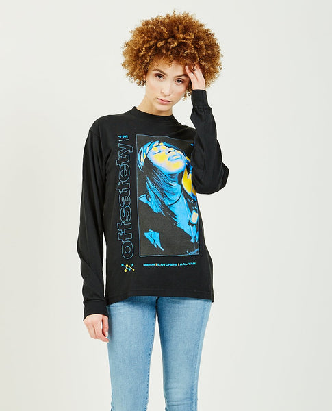OFF SAFETY Aaliyah Sunkist Long Sleeve Tee