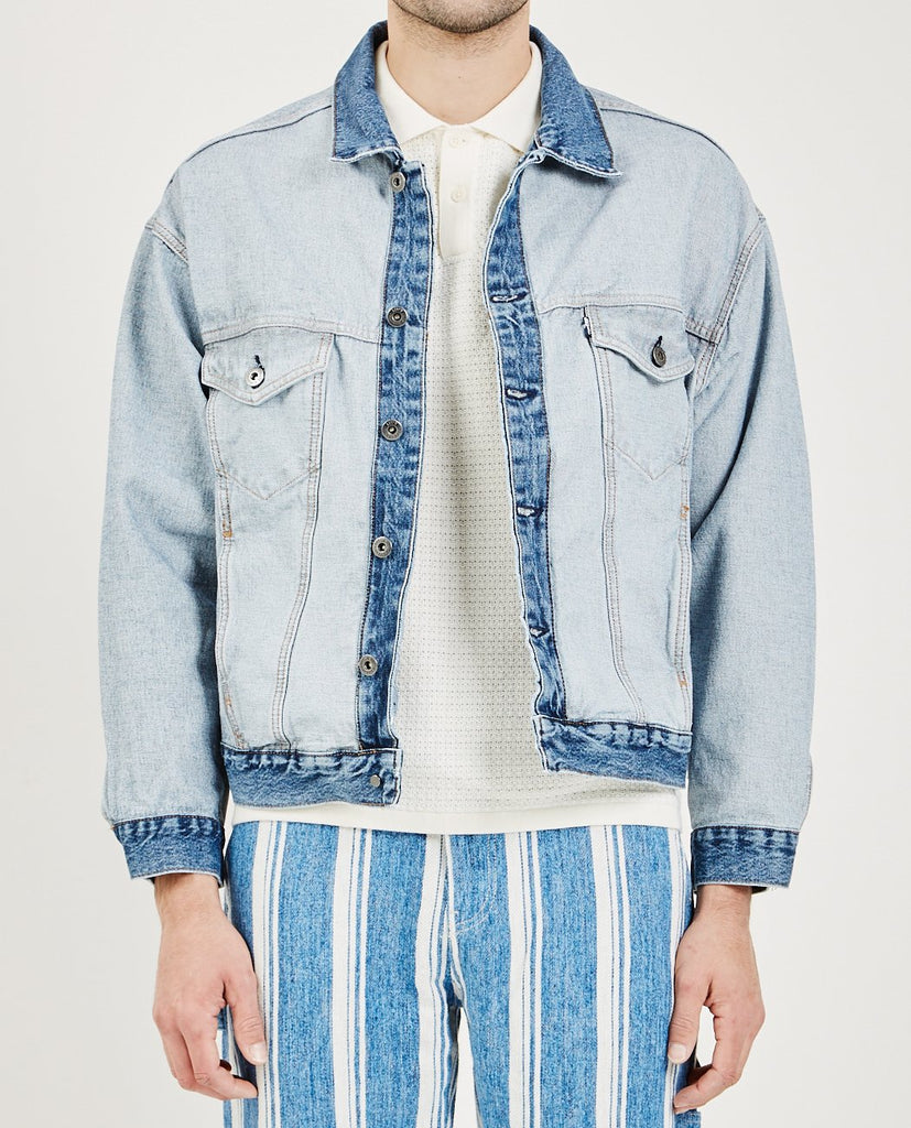 ABOUT FACE TRUCKER JACKET-LEVI'S: MADE & CRAFTED-American Rag Cie