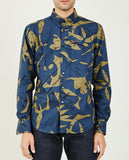 NAKED & FAMOUS-Abstract Mod Print Easy Shirt-Men Shirts-{option1]