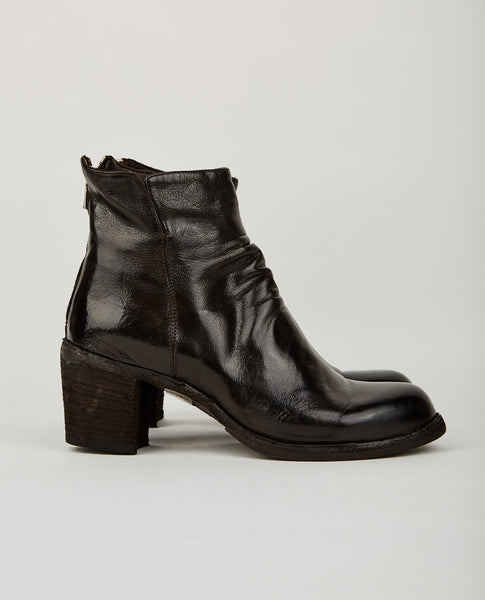 OFFICINE CREATIVE AGNES ZIP BOOT BLACK