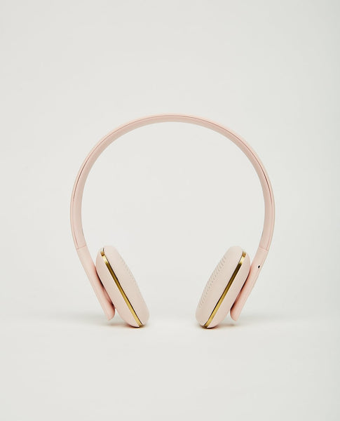 KREAFUNK Ahead Bluetooth Headset Dusty Pink