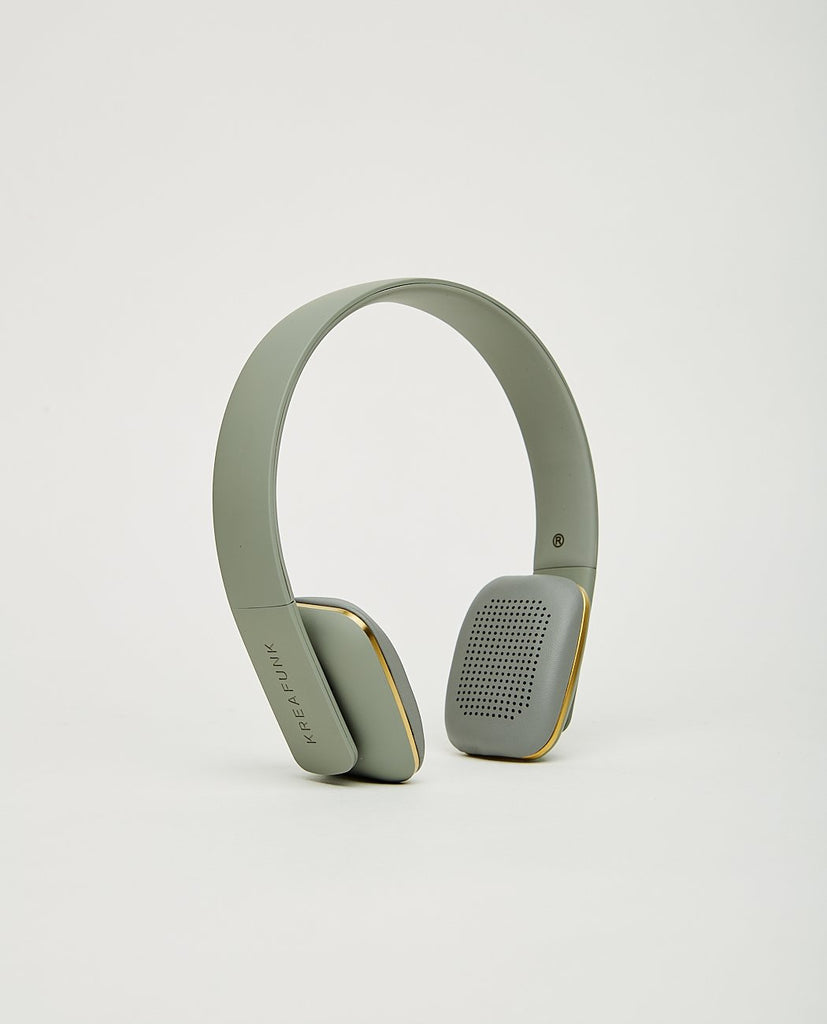 Ahead Bluetooth Headset Grey-KREAFUNK-American Rag Cie