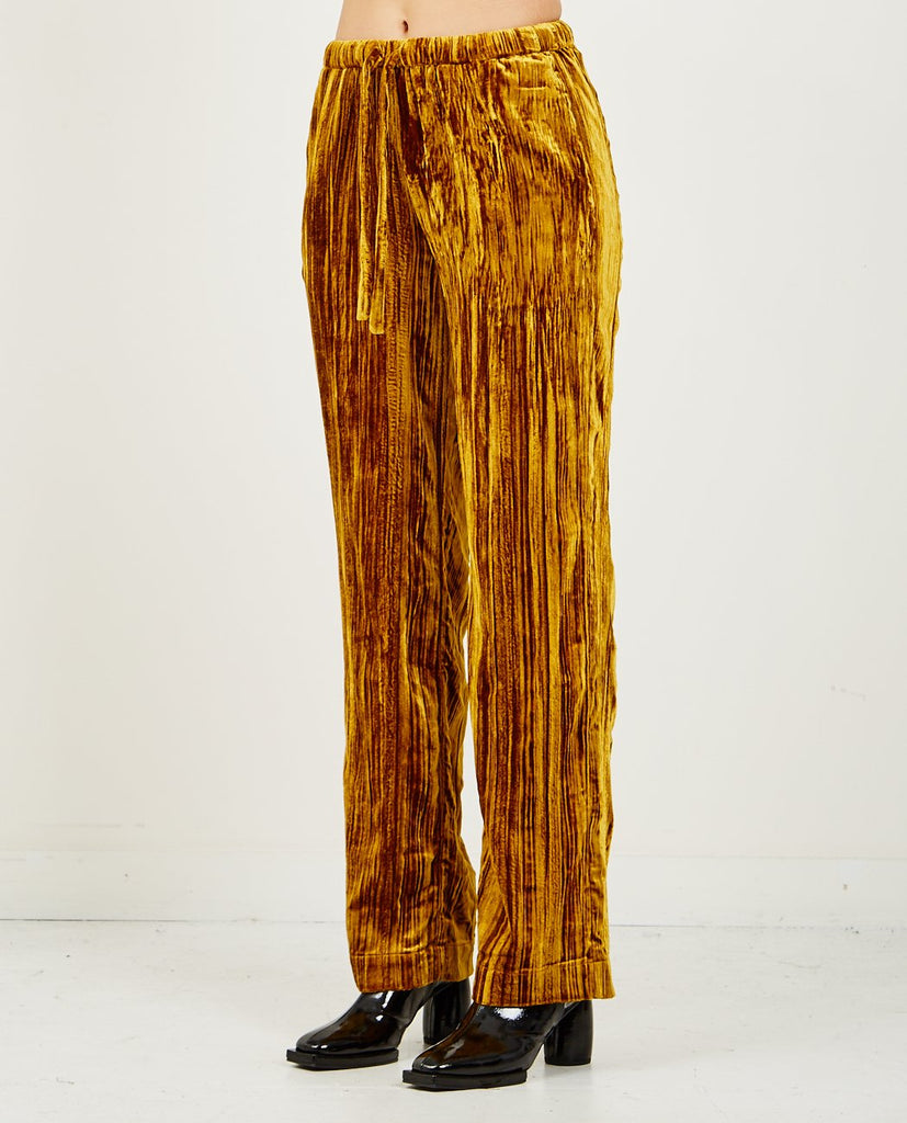 STINE GOYA-AILEEN VELVET PANT-Women Pants-{option1]