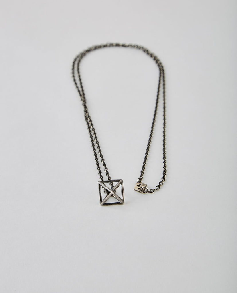 AIR GEOMETRIC NECKLACE-M. COHEN-American Rag Cie