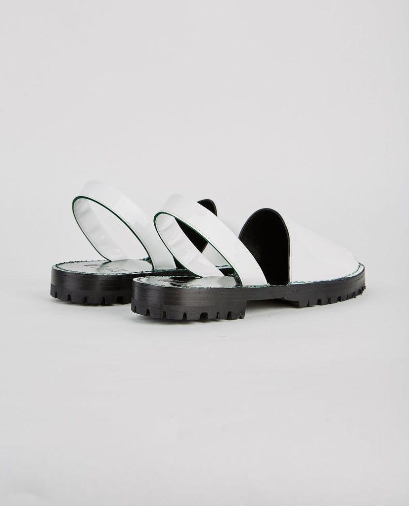 GOYA-ALABASTER PATENT SLIDE-Women Sandals-{option1]