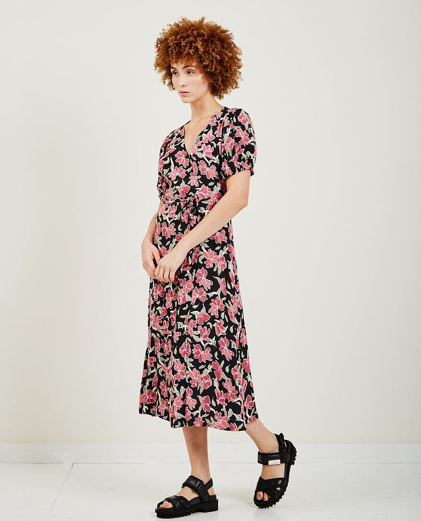 Alda Wrap Dress-JUST FEMALE-American Rag Cie