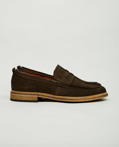 BUSCEMI Town Loafer Black