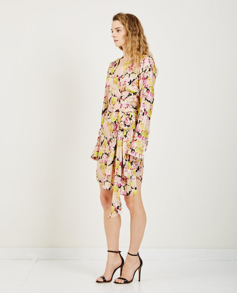BIRGITTE HERSKIND-ALICE SILK WRAP DRESS-SALE Dresses-{option1]