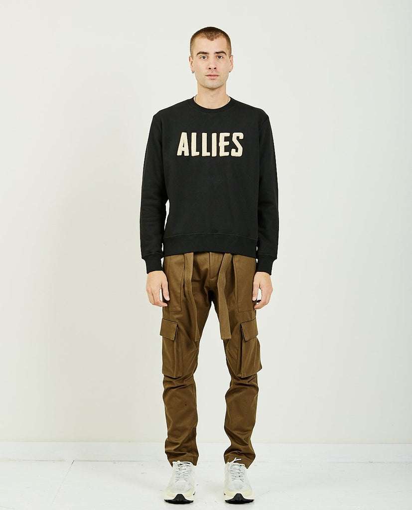 Allies Patch Sweatshirt-IH NOM UH NIT-American Rag Cie
