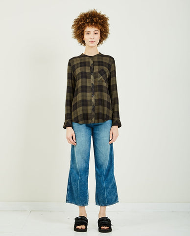 TRIAA MINK COMBO PULLOVER SWEATER