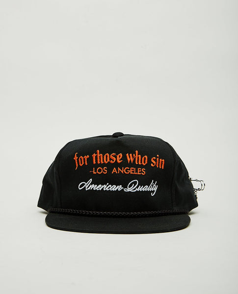 FOR THOSE WHO SIN AMERICAN QUALITY HAT