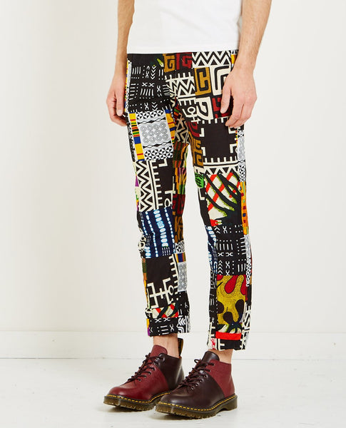 ENGINEERED GARMENTS ANDOVER PANT AFRICAN PRINT PATCHWORK