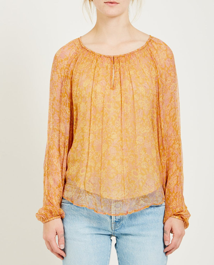 MES DEMOISELLES-ANDREAS FLORAL PRINT BLOUSE-Blouses-{option1]