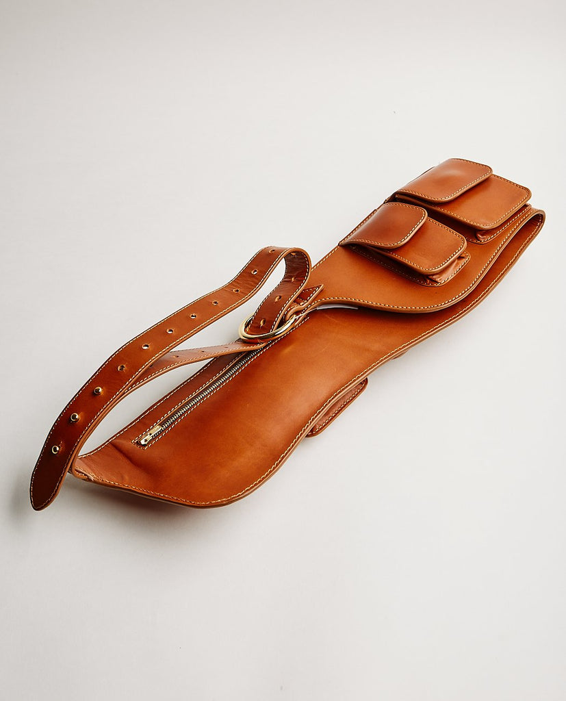 ASHYA-Anjuna Belt Bag Toffee-UNISEX BAGS & WALLETS-{option1]