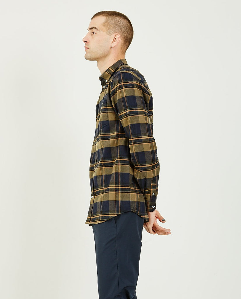 NORSE PROJECTS-Anton Brushed Flannel-Men Shirts-{option1]