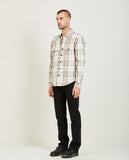 KATO-ANVIL SHIRT JACKET HEAVY FLANNEL BEIGE-Men Coats + Jackets-{option1]