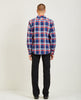 ANVIL SHIRT JACKET HEAVY FLANNEL NAVY-KATO-American Rag Cie