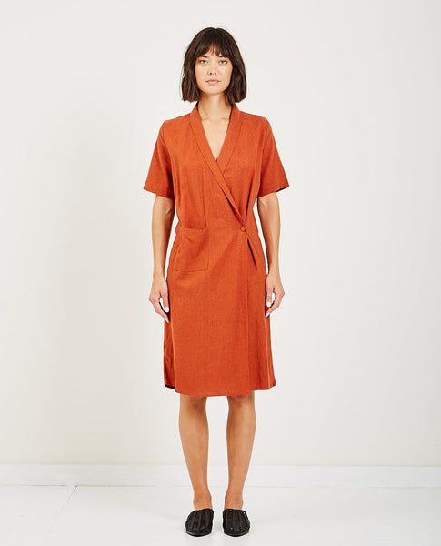 RITA ROW ARASHI WRAP DRESS
