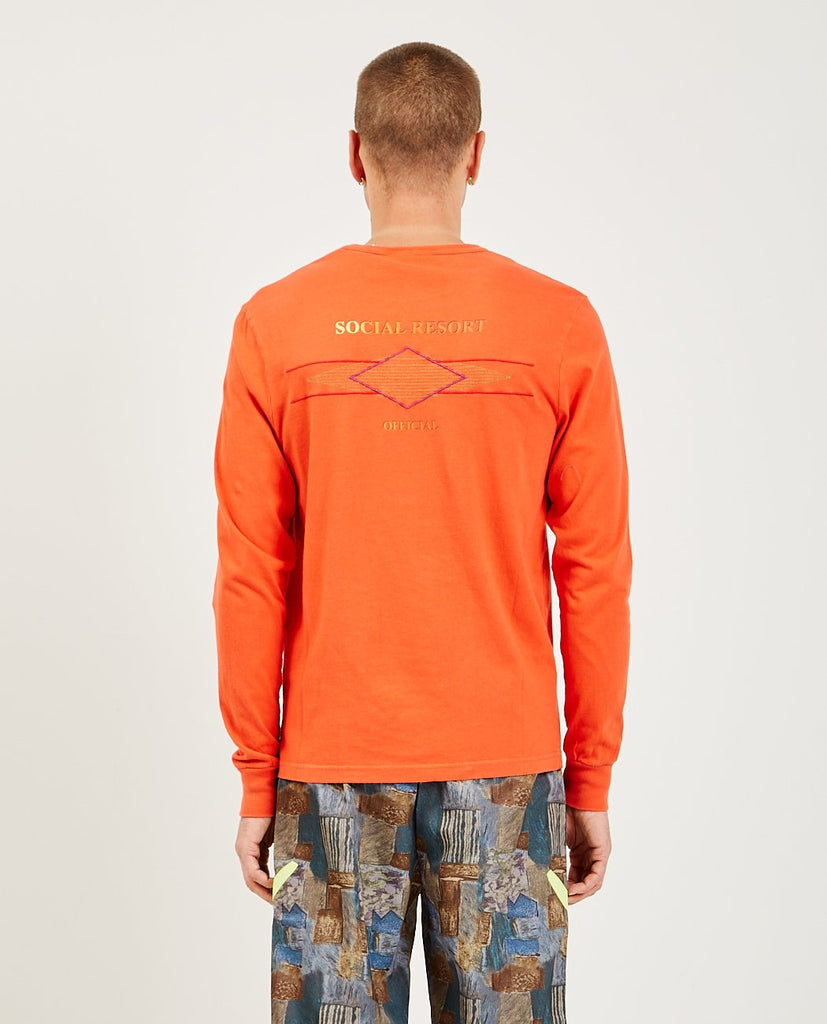 HAN KJOBENHAVN-Artwork Long Sleeve Tee-Men Tees + Tanks-{option1]