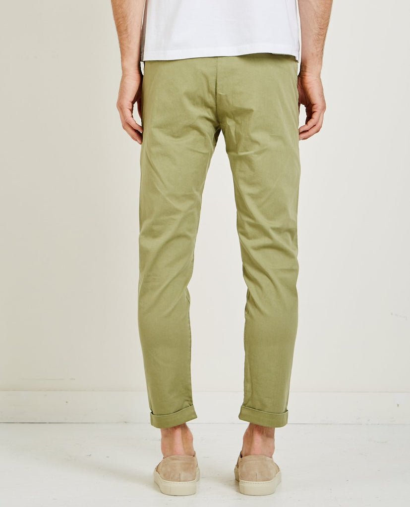 CLOSED-ATELIER TAPERED VINTAGE GREEN-Men Pants-{option1]