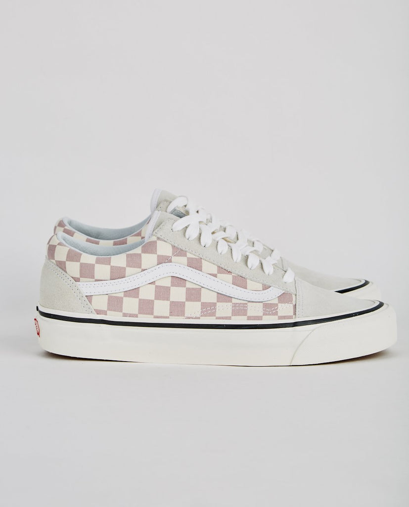 VANS-AUTHENTIC 36 DX ANAHEIM FACTORY OLD SKOOL MAUVE CHECKERBOARD-Men Sneakers + Trainers-{option1]