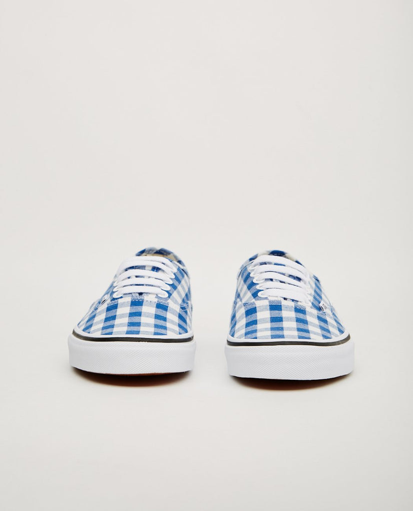 VANS-AUTHENTIC BLUE GINGHAM-Women Sneakers+ Trainers-{option1]