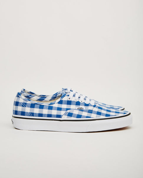 VANS AUTHENTIC BLUE GINGHAM