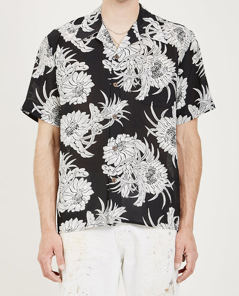 AVANTI Avanti X Amrag Night Blooming Aloha Shirt